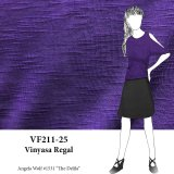 VF211-25 Vinyasa Regal - Purple Slubbed Lightweight Rayon T-Shirt Knit Fabric