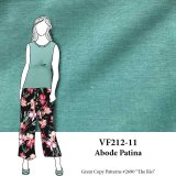 VF212-11 Abode Patina -  Antique Blue Green Ponte di Roma Double Knit Fabric