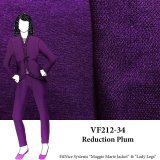 VF212-34 Reduction Plum - Purple Bamboo French Terry Knit Fabric from Telio & Cie