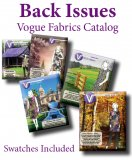 Back Issue - Vogue Fabrics By Mail Fabric Swatch Catalog