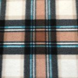 Polar Fleece Print - Brown Plaid