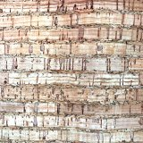 Cork Fabric - Lines - By the yard