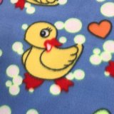 Polar Fleece Print - Ducks