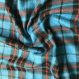 Polar Fleece Print - Blue Plaid