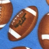 Polar Fleece Print - Football