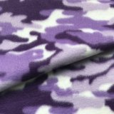 Polar Fleece Print - Purple Camo