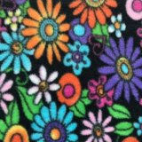 Polar Fleece Print - Flower Power