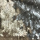 Mermaid Reversible Sequin Knit- Matte Gold-Silver