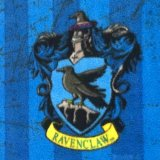 Harry Potter Fleece Fabric - Ravenclaw
