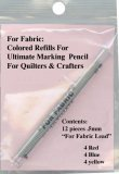 Fabric Marking Colored Lead *Refill - for Mechanical Pencils .5mm used by Quilters & Crafters- Assorted Colors