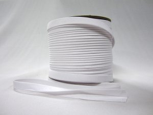 "Wholesale Bias Tape - Super White Extra Wide Double Fold - 1/2"" finished x 100 yard spool"