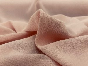 Bubble Crepe Georgette Fabric - Dusty Rose