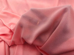 Bubble Crepe Georgette Fabric - Rose
