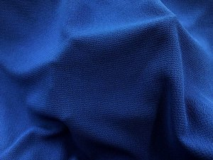 Bubble Crepe Georgette Fabric - Royal