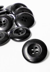 "Wholesale Button - Jacket or Coat Button - 23mm - Dark Navy 7/8"" - 1 Gross (144)"