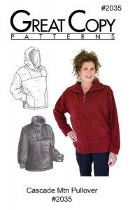 Great Copy #2035 - Cascade Mountain Pullover Sewing Pattern