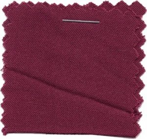 Wholesale Rayon Challis Solid Fabric - Burgundy  - 25 yards