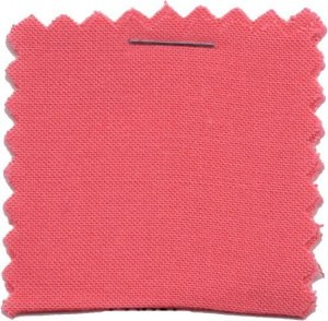 Rayon Challis Solid Fabric - Coral