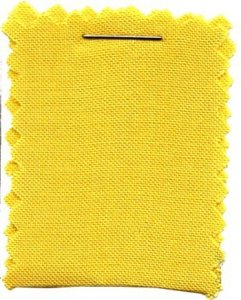 Wholesale Rayon Challis Solid Fabric - Yellow 25 yards