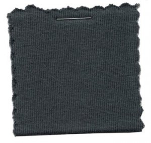 Wholesale Cotton Jersey Knit Fabric - Charcoal  25 yards