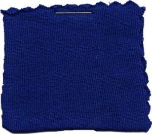 Wholesale Cotton Jersey Knit Fabric Cobalt