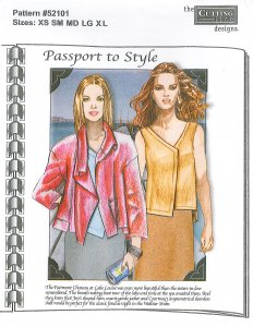 Cutting Line Designs #52101 Passport to Style - Jacket and Shell Pattern