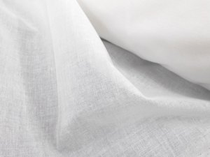 "T'Shirt Quilt Interfacing, 60"" woven, fusible in white"