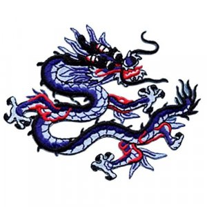 Chinese Dragon applique