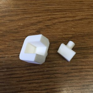 "Steel Bone Tipping Die - 6mm (1/4"")"