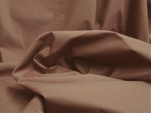 Broadcloth Fabric - Polyester-Cotton Blend - Cocoa