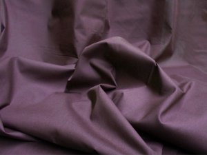 Broadcloth Fabric - Polyester-Cotton Blend - Dark Wine