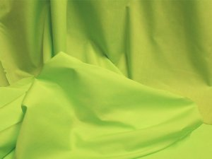 Broadcloth Fabric - Polyester-Cotton Blend - Lime