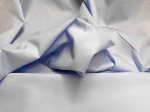 Broadcloth Fabric - Polyester-Cotton Blend - Light Blue