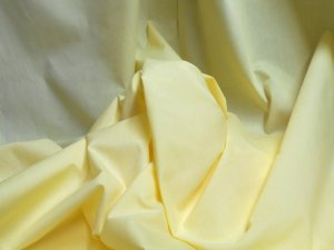 Broadcloth Fabric - Polyester-Cotton Blend - Maize