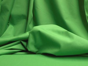 Broadcloth Fabric - Polyester-Cotton Blend - Emerald