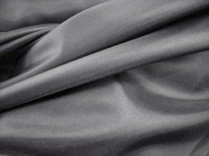 "China Silk Lining - Charcoal, 60"" wide polyester lining"