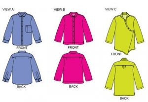 Cutting Line Designs - The Blouse Perfected