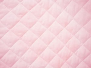 Double Faced Quilted Cotton Broadcloth - Soft Pink