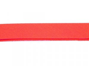 Wrights Extra Wide Double Fold Bias Tape #206-Neon Red #25