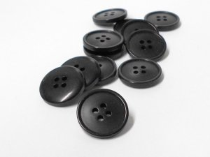 Flat Jacket or Coat button - 3/4""