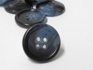Wholesale Jacket or Coat Buttons - Blue Multi