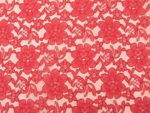 Floral Lace - Red