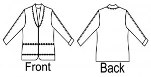 Great Copy Pattern Thunder Bay Jacket - drawings