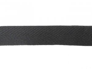 "Wholesale ""Heavy"" Twill Tape - 3/4"" Black - 288 yards"