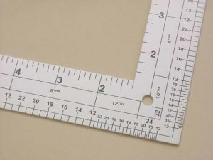 "L-Square 24"" Ruler side 2"