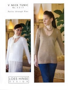 Loes Hinse Design - V Neck Tunic #5213
