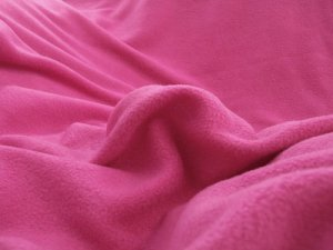 Polar Fleece Solids fabric - Fuchsia