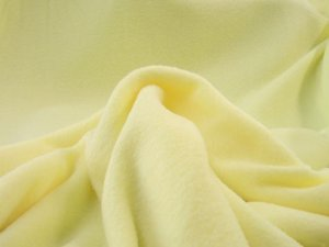 Polar Fleece Solids fabric - Maize