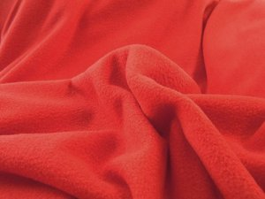 Wholesale Polar Fleece fabric - Red