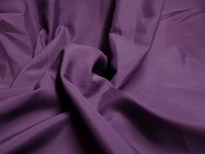 Pongee Plush Anti-Static Lining - Eggplant